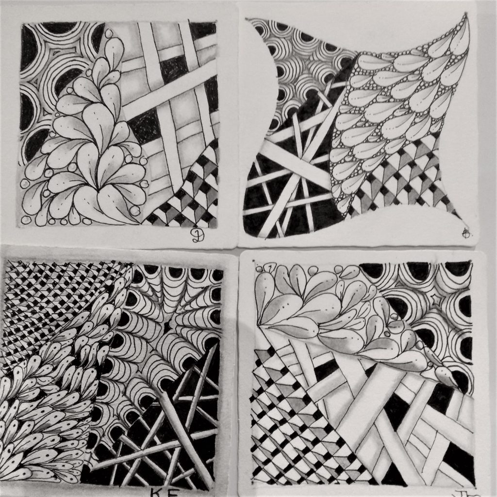 Take Time to Tangle - Weekly Zentangle drawing club